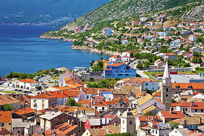 Photograph - Town Of Senj Architecture And Coast by Brch Photography