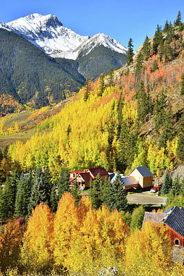 Photograph - Town Of Silverton by Ray Mathis
