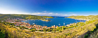 Photograph - Town Of Vis Bay Panorama by Brch Photography