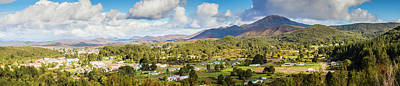Suburban Photograph - Town Of Zeehan Australia by Jorgo Photography - Wall Art Gallery