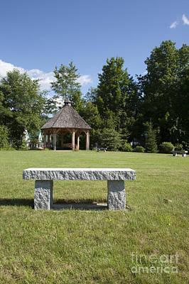 Town Park In Bartlett New Hampshire Usa Art Print by Erin Paul Donovan
