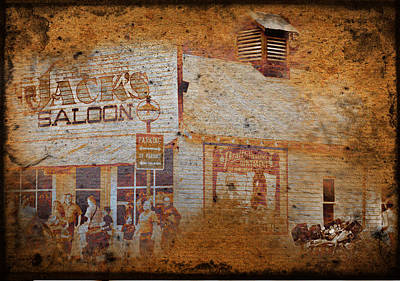Photograph - Town Saloon by Dale Stillman
