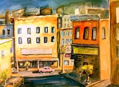 Painting - Town by Steven Holder