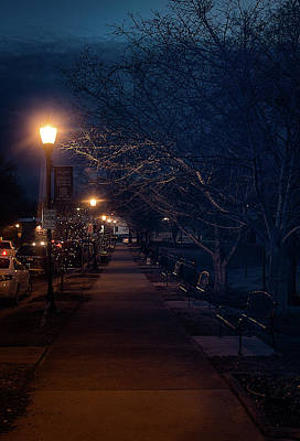 Photograph - Town Street A Night by Ant Pruitt