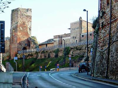 Photograph - Town Walls Citta Della Pieve by Dorothy Berry-Lound