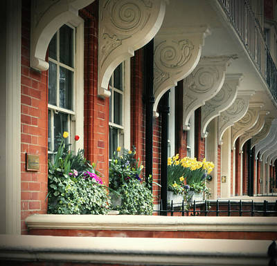 Photograph - Townhouse Row - London by Samuel M Purvis III