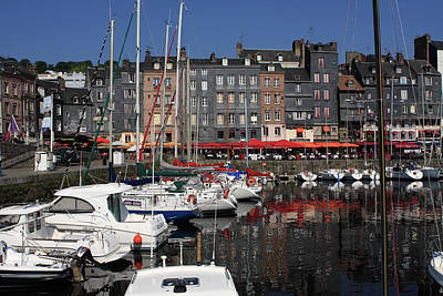 Photograph - Honfleur, France by Aidan Moran