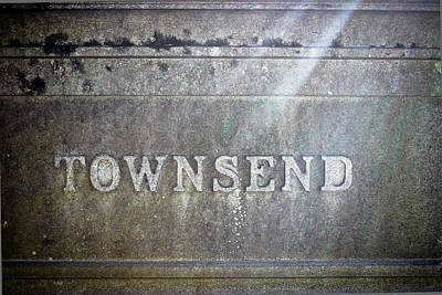 Photograph - Townsend - Cemetery Art by Colleen Kammerer