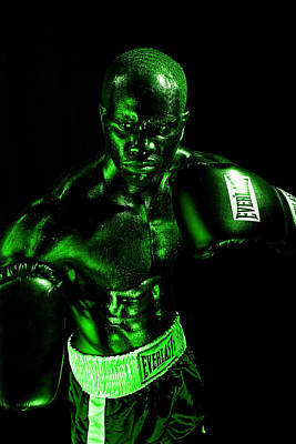 Fitness Model Photograph - Toxic Boxer by Val Black Russian Tourchin