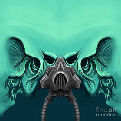 Toxic Demon Art Print