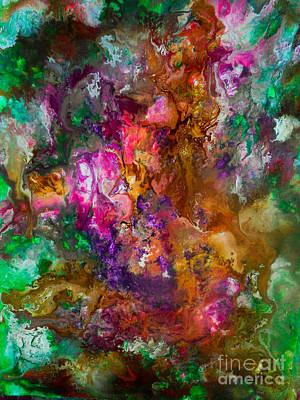 Justine Painting - Toxic by Elle Justine