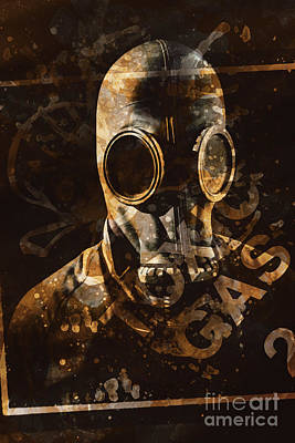 Unsafe Digital Art - Toxic Gas Chemical Hazard by Jorgo Photography - Wall Art Gallery