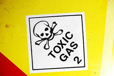 Toxic Gas Art Print