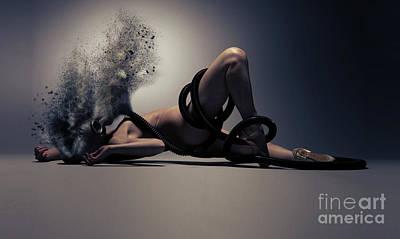 Toxic V2 Art Print by Nichola Denny
