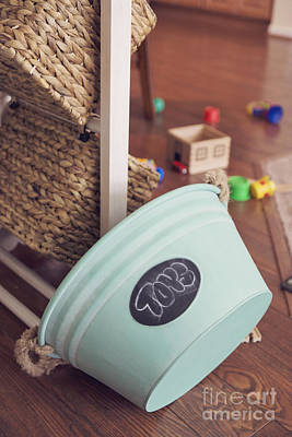 Photograph - Toy Bucket by Cindy Garber Iverson