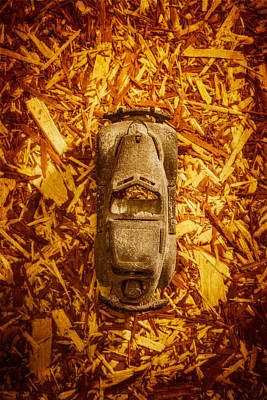 Photograph - Toy Car On Wood by Yo Pedro