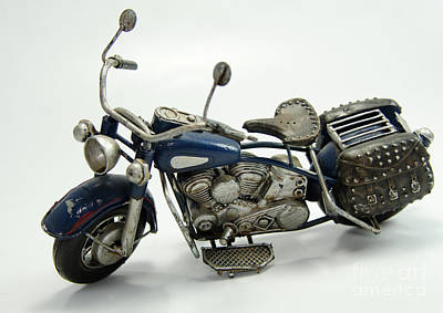 Photograph - Toy Motorcycle  by Wilma Birdwell