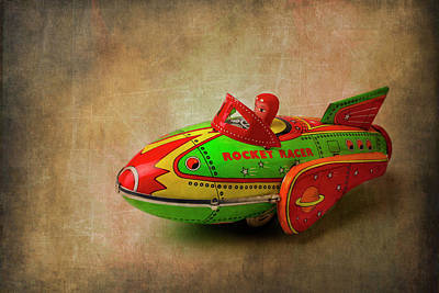 Toy Rocker Racer Car Art Print by Garry Gay