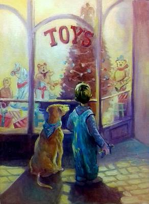 Painting - Toy Shop by Paul Weerasekera