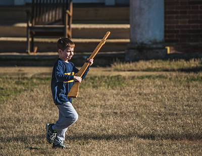 Photograph - Toy Soldier Engages At Fort Washington by Jeff at JSJ Photography
