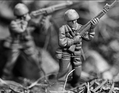 Toy Soldiers Art Print by Randy Steele