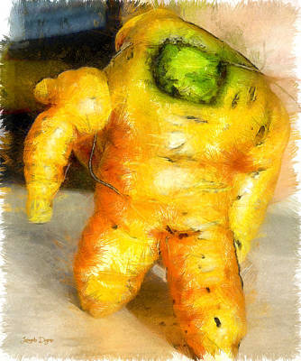 Toy Story Vegetable Version - Pa Art Print by Leonardo Digenio