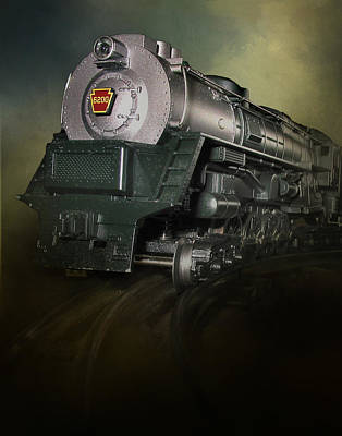 Photograph - Toy Train by David and Carol Kelly
