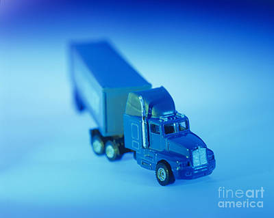 Photograph - Toy Truck by Carlos Dominguez