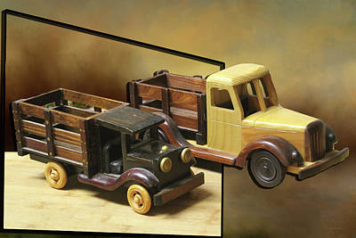 Photograph - Toy Trucks by Ericamaxine Price