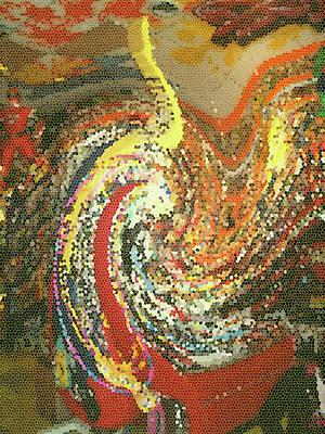 Claude Monet - Toy Tsunami by Anne Cameron Cutri