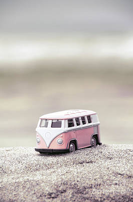 Photograph - Toy Van Pink by Jill Battaglia