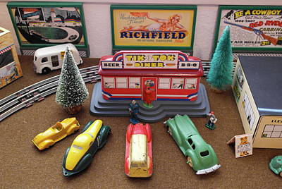Photograph - Toytown - Tik Tok Diner by Michele Myers