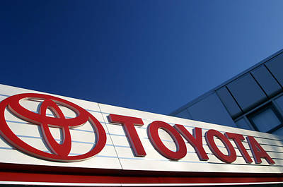 Toyota 8 Art Print