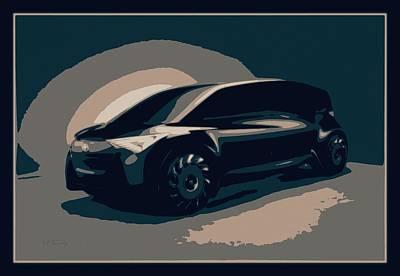Mixed Media - Toyota Fine-comfort Ride 2018 by Maciek Froncisz