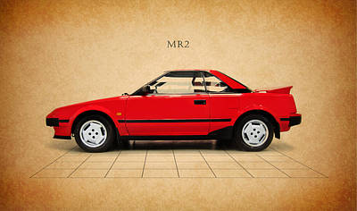 Toyota Photograph - Toyota Mr2 by Mark Rogan