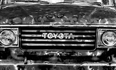 Toyota Truck Print by Lyle  Huisken