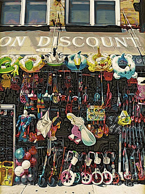 Brooklyn Storefronts Photograph - Toys Galore by Onedayoneimage Photography