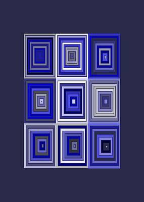 Square Digital Art - Tp.2.31 by Gareth Lewis