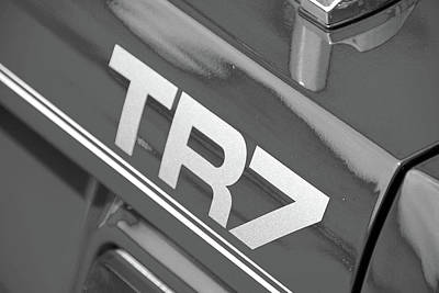 Photograph - Tr7  by John Schneider