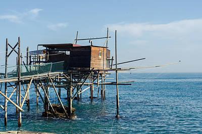 Photograph - Trabocchi Coast - Italy  by Andrea Mazzocchetti