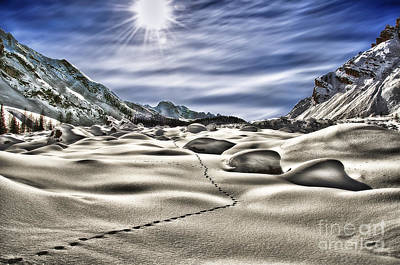 Photograph - Traces by Alessandro Giorgi Art Photography