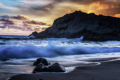 Point Reyes National Seashore Photograph - Traces by Marnie Patchett