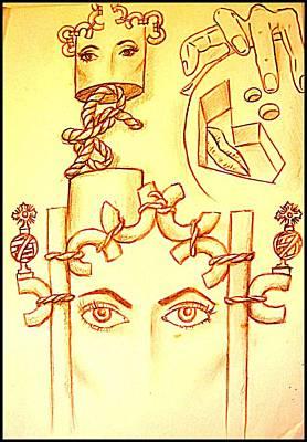 Traces Of Dreams Print by Paulo Zerbato