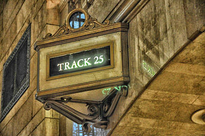 Photograph - Track 25 by Mike Martin