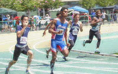 Photograph - Track And Field by Wes Jimerson