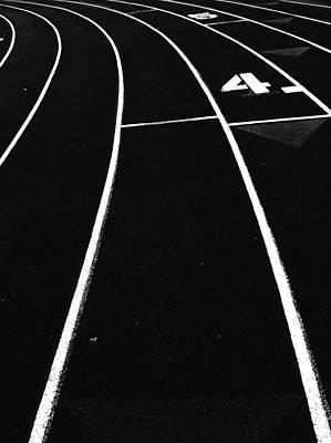 Photograph - Track Lane by Eddie G