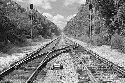 Tracks 2 Art Print by Mike McGlothlen