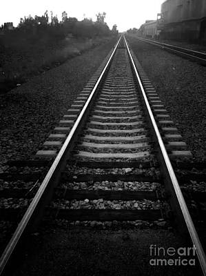 Photograph - Train Tracks by Gregory Dyer