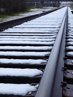 Photograph - Tracks In Snow by James Granberry