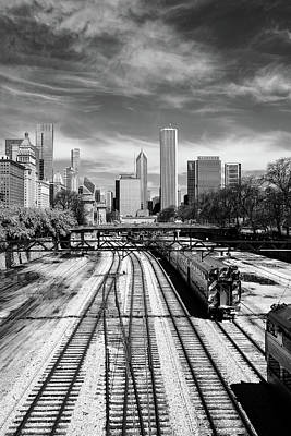 Photograph - Tracks Into The City by John McArthur